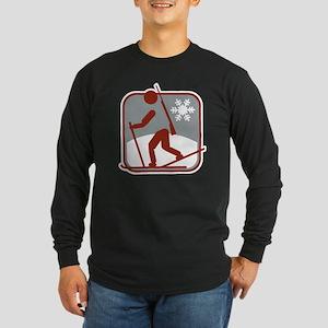 biathlon symbol Long Sleeve Dark T-Shirt