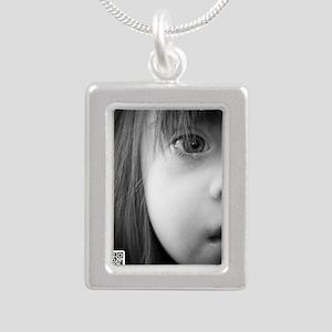 DS the BIG Picture Silver Portrait Necklace