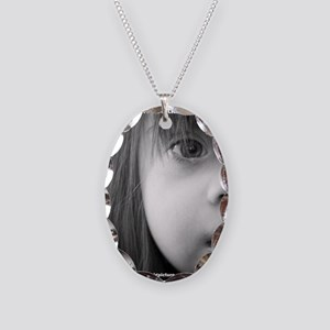 DS the BIG Picture Necklace Oval Charm