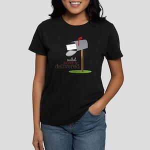 Sealed Signed & Delivered Women's Dark T-Shirt
