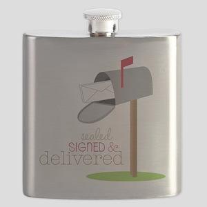 Sealed Signed & Delivered Flask