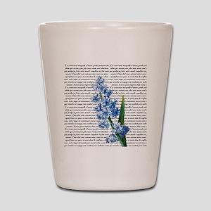 Vintage Hyacinth Shot Glass