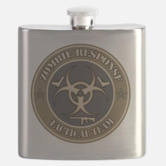 Zombie Response Tactical Team - Desert Flask