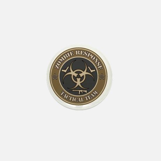 Zombie Response Tactical Team - Desert Mini Button