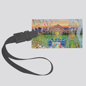 Let it Go Large Luggage Tag