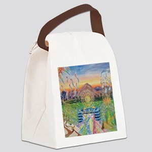 Let it Go Canvas Lunch Bag