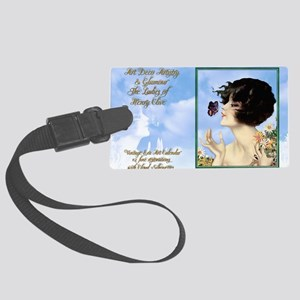1 A CVR CLIVE BUTTERFLY KISS Large Luggage Tag