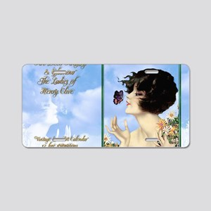 1 A CVR CLIVE BUTTERFLY KIS Aluminum License Plate
