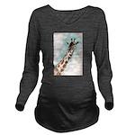 giraffe.jpg Long Sleeve Maternity T-Shirt