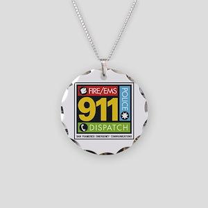 911 SAN FRANCISCO Necklace Circle Charm