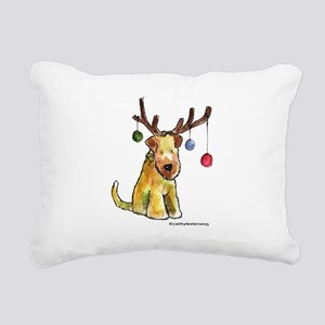 SCWTantlers Rectangular Canvas Pillow