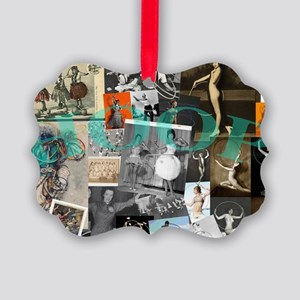 Hoop History Picture Ornament