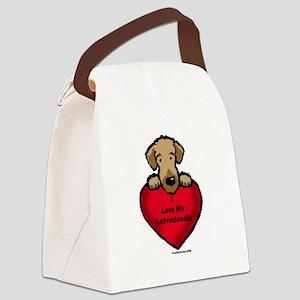 LabradoodleLove Canvas Lunch Bag