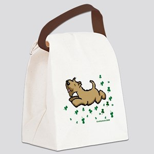 SCWTshamrockjump Canvas Lunch Bag
