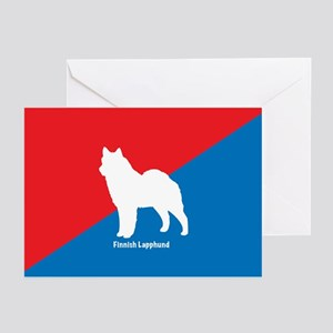 Lapphund Greeting Cards (Pk of 10)