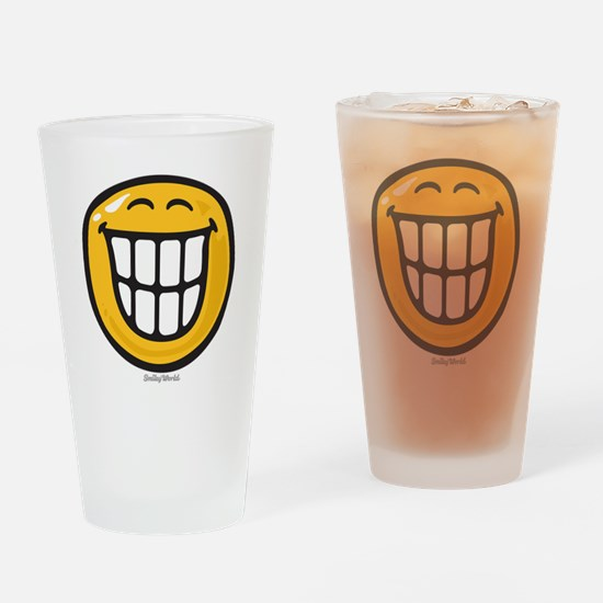 delight smiley Drinking Glass