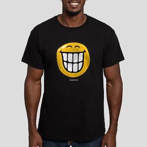 delight smiley Men's Fitted T-Shirt (dark)