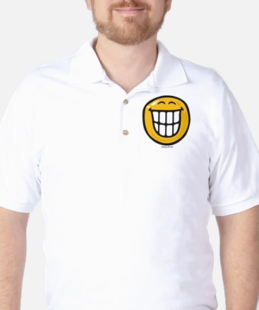 delight smiley Golf Shirt