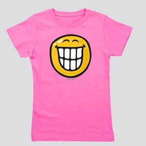 delight smiley Girl's Tee