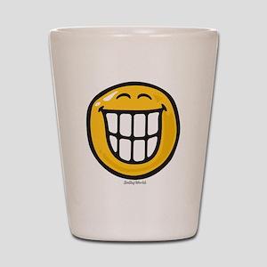 delight smiley Shot Glass