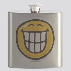 delight smiley Flask
