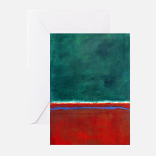 ROTHKO CHRISTMAS Greeting Cards