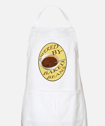 Powered by Baked Beans BBQ Apron