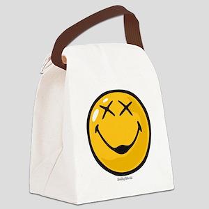 unconscious smiley Canvas Lunch Bag