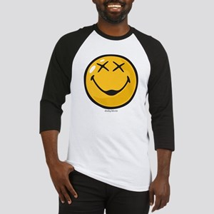 unconscious smiley Baseball Jersey