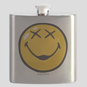 unconscious smiley Flask