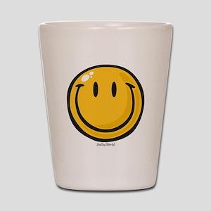 big smile smiley Shot Glass
