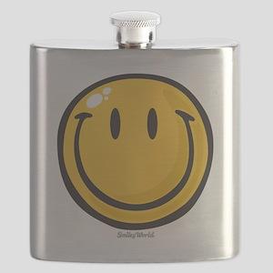 big smile smiley Flask