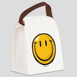 big smile smiley Canvas Lunch Bag