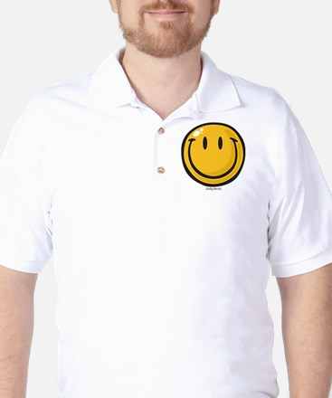 big smile smiley Golf Shirt