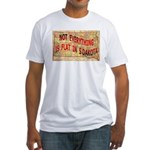 Flat S Dakota Fitted T-Shirt