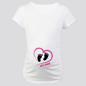 Maternity Funny Pregnancy Personalized Maternity T
