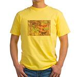 Flat Wyoming Yellow T-Shirt