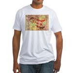 Flat Wyoming Fitted T-Shirt