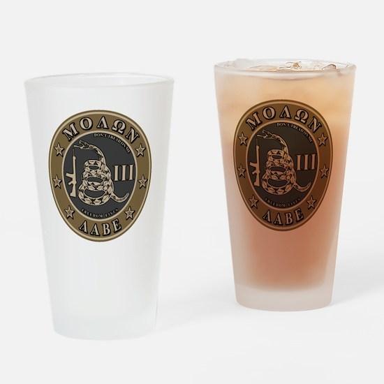 Square - DTOM III - Desert Drinking Glass