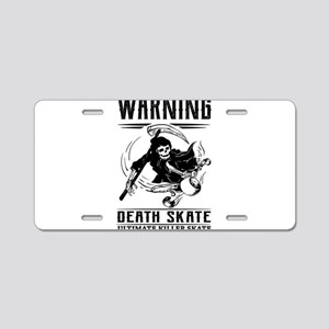 Killer Skate Aluminum License Plate