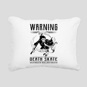 Killer Skate Rectangular Canvas Pillow