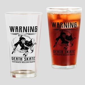 Killer Skate Drinking Glass