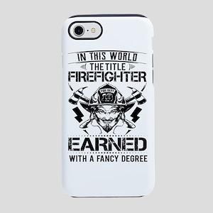 The Title Firefighter Not Earned From Fancy Degree