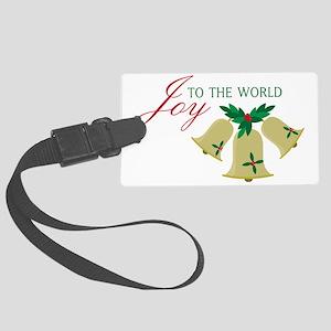 Joy To The World Large Luggage Tag