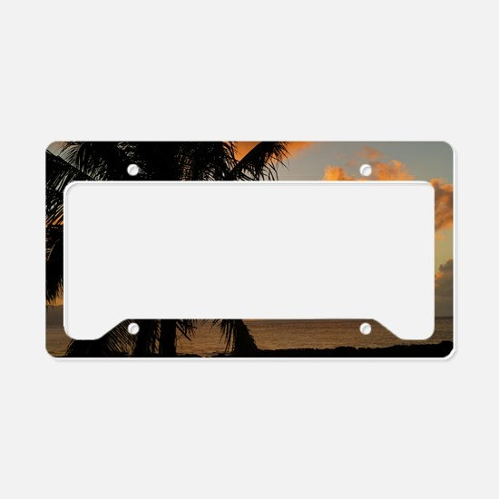 North Shore Oahu License Plate Holder