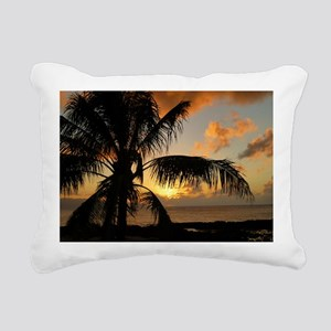 North Shore Oahu Rectangular Canvas Pillow