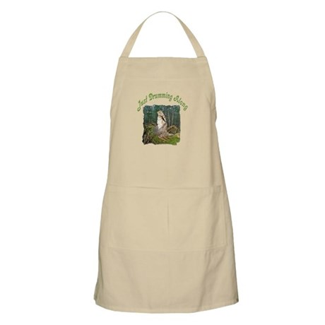 Drumming grouse BBQ Apron