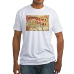 Flat Montana Fitted T-Shirt