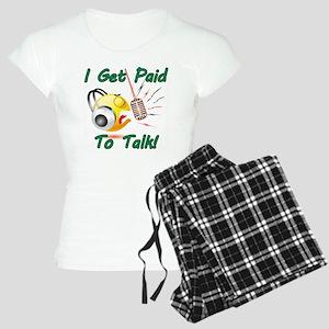 I Get Paid - To Talk (1) Women's Light Pajamas