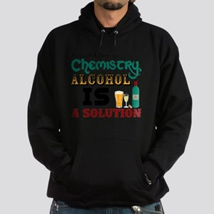 Alcohol is a Solution Hoodie (dark)